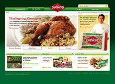 Diamond Nuts Website