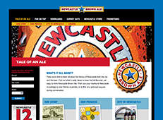 Newcastle Brown Ale Website